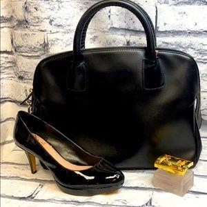 Bally brand black classic purse